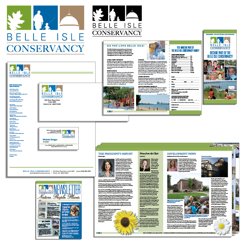 Belle Isle Conservancy Corporate ID