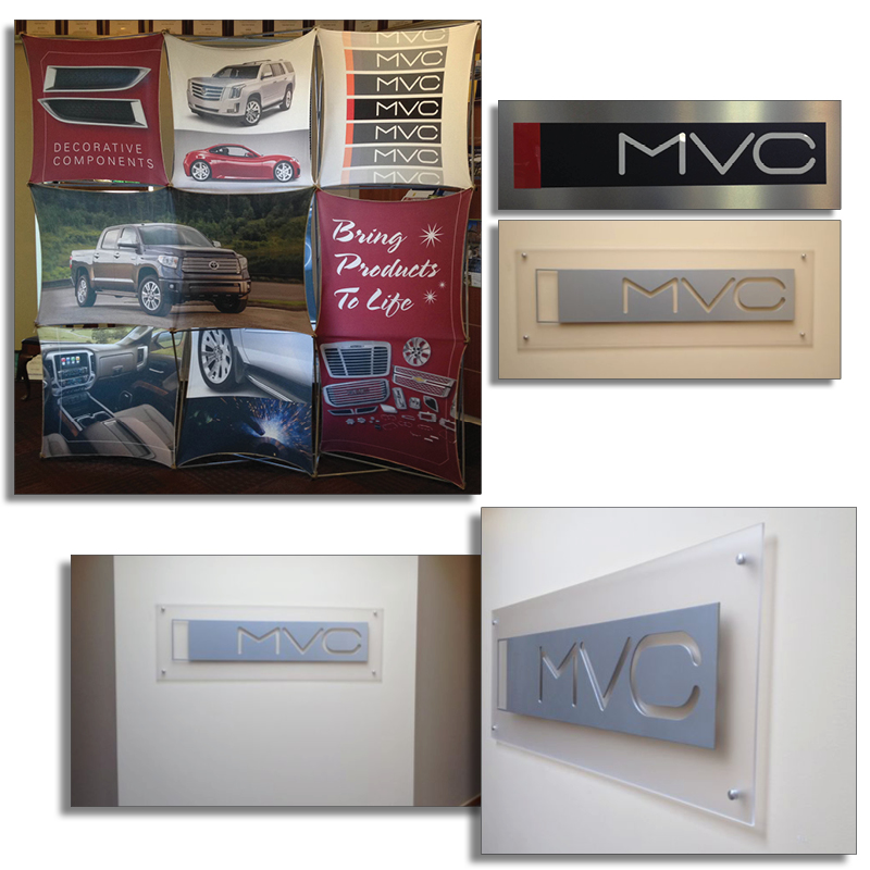 MVC Popup Display and Signage